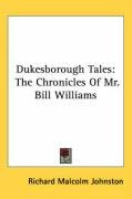 dukesborough tales the chronicles of mr bill williams_cover
