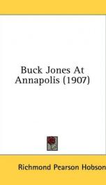 buck jones at annapolis_cover