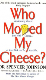 MY FREE CHEESE WHO MOVED