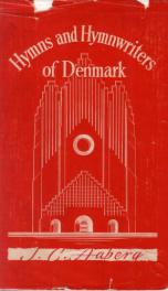 Hymns and Hymnwriters of Denmark_cover