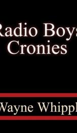 Radio Boys Cronies_cover