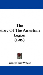 The Story of The American Legion_cover