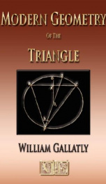 the modern geometry of the triangle_cover