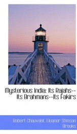 mysterious india its rajahs its brahmans its fakirs_cover