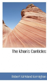 the khans canticles_cover