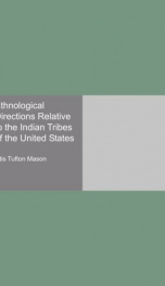 ethnological directions relative to the indian tribes of the united states_cover