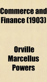 commerce and finance_cover