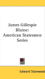 james gillespie blaine_cover