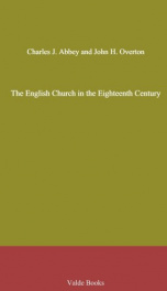 The English Church in the Eighteenth Century_cover