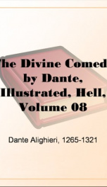 The Divine Comedy by Dante, Illustrated, Hell, Volume 08_cover