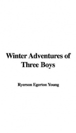Winter Adventures of Three Boys_cover