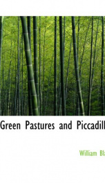 green pastures and piccadilly_cover