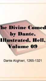 The Divine Comedy by Dante, Illustrated, Hell, Volume 09_cover