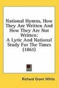 national hymns how they are written and how they are not written a lyric and_cover