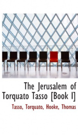 the jerusalem of torquato tasso book i_cover