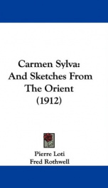 carmen sylva and sketches from the orient_cover