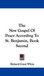 the new gospel of peace according to st benjamin_cover