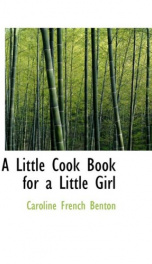 A Little Cook Book for a Little Girl_cover