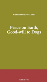 Peace on Earth, Good-will to Dogs_cover