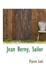 jean berny sailor_cover