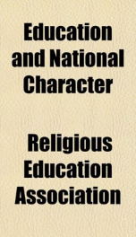education and national character_cover