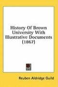 history of brown university with illustrative documents_cover