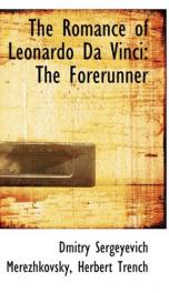 the romance of leonardo da vinci the forerunner_cover