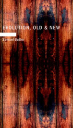 Evolution, Old & New_cover