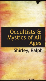 occultists mystics of all ages_cover