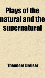 plays of the natural and the supernatural_cover