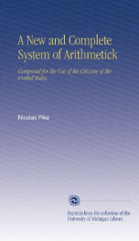 a new and complete system of arithmetick composed for the use of the citizens_cover