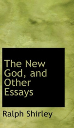 the new god and other essays_cover