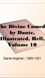 The Divine Comedy by Dante, Illustrated, Hell, Volume 10_cover