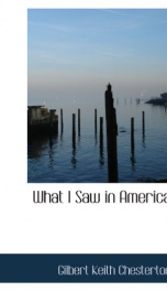 What I Saw in America_cover