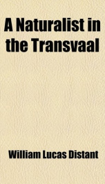 a naturalist in the transvaal_cover