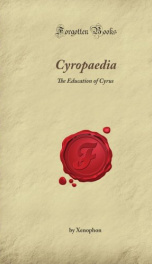 Cyropaedia: the education of Cyrus_cover