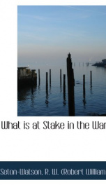 what is at stake in the war_cover