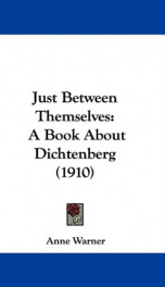 just between themselves a book about dichtenberg_cover