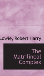the matrilineal complex_cover