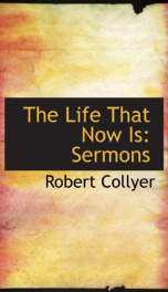 the life that now is sermons_cover