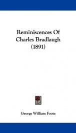 Reminiscences of Charles Bradlaugh_cover