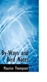 by ways and bird notes_cover