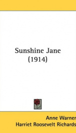 sunshine jane_cover