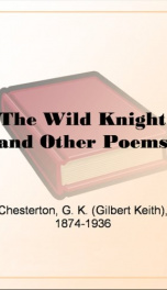 The Wild Knight and Other Poems_cover
