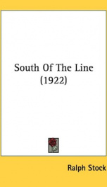 south of the line_cover