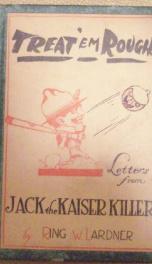treat em rough letters from jack the kaiser killer_cover