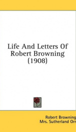 Life and Letters of Robert Browning_cover