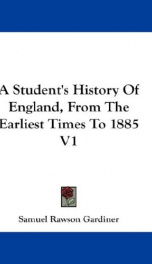 a students history of england from the earliest times to 1885_cover