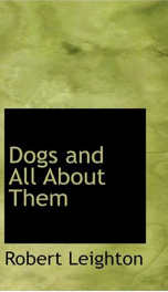 Dogs and All about Them_cover