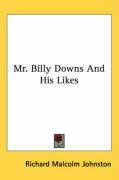 mr billy downs and his likes_cover